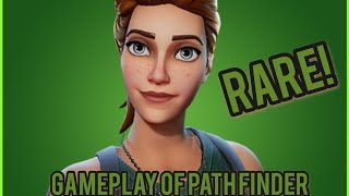 Fortnite- *NEW* Gameplay Of The Pathfinder Rare OG Skin!
