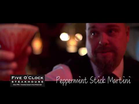 5 O'Clock Peppermint Stick Martini HD