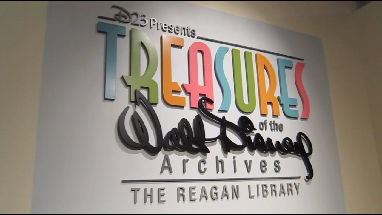 Treasures Of The Walt Disney Archives At The Reagan Library