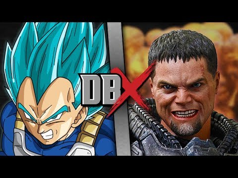 Vegeta VS Zod (Dragon Ball VS DC Comics) | DBX