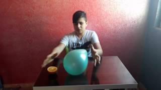 Balonlarla iki deneme (kanal yeni lütfen abone olun)