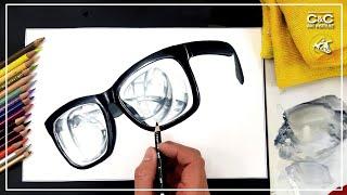 입시미술로 투명한 안경을 그려봅시다!_기초디자인 투명체…