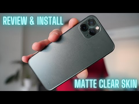 (SLICKWRAPS NAKED) IPhone 11 Pro Clear Skin Review & Install