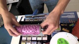 How To Use Patterned Paint Rollers (2-Colour Applicator)