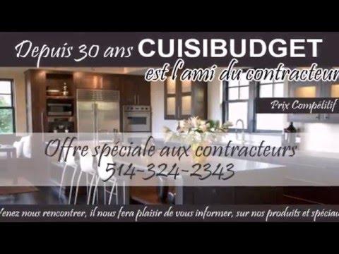 CUISIBUDGET.com | Fabricant et installateur d'armoires de cuisine dans la région de Montréal