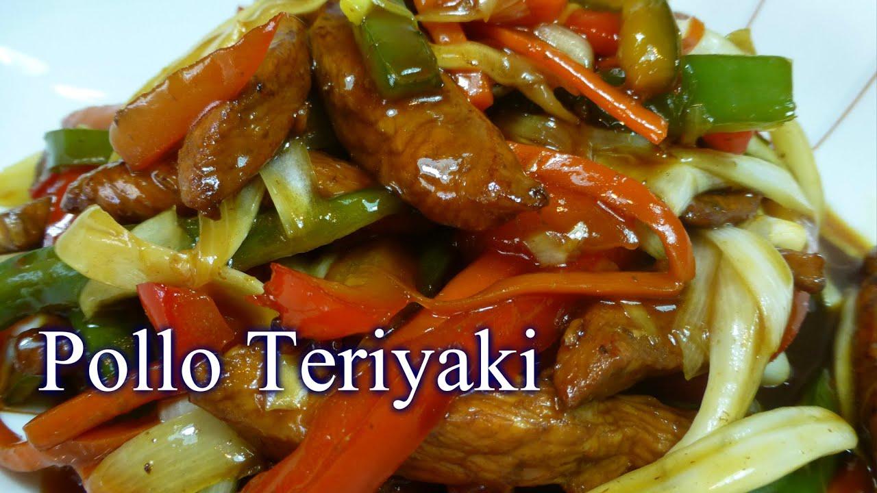 Pollo teriyaki youtube for Comidas faciles de preparar