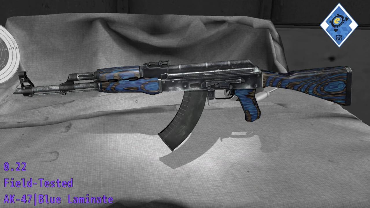 Ak 47 Blue Laminate Cs Go Stash