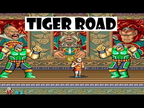 Tiger Road arcade: Longplay with 1 credit / 1 coin