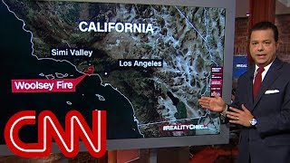 Extinguishing Trump's California wildfire claim | Reality Check with John Avlon