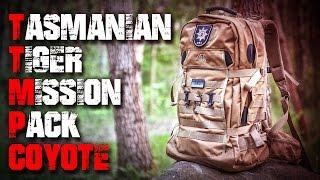 TT Tasmanian Tiger Mission Pack Rucksack Coyote - Review Test Outdoortest EDC (Deutsch/German)