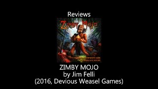 Zimby Mojo Review by All the Games You Like Are Bad
