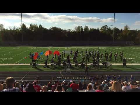 Robert Lee Marching Band - 2017 Stafford Competition