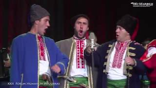 """XXX FORUM HUMANUM MAZURKAS-Narodowy Chór Ukrainy im. """"G.G.Wierowki""""-Kozacka pieśń-""""Nalewajmy bracia"""""""