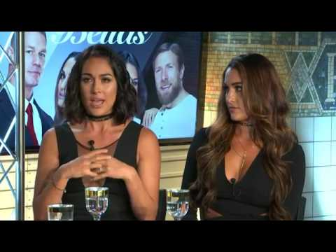 Nikki Bella and Brie Bella on #TheTrend about their show Total Bellas 1010 Wins