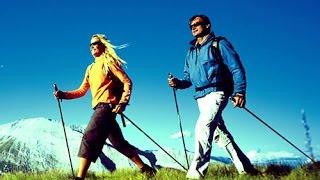 видео Ходьба и бег на лыжах, полезность, похудение