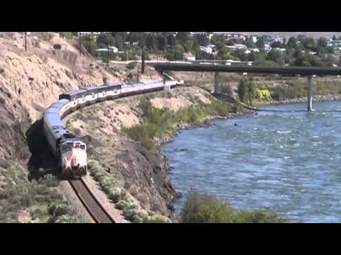 Rocky Mountaineer - Kamloops to Yale .... down the Canyons