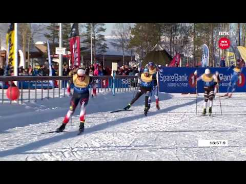 NM Alta 2018 - Men's Team Sprint (F) Final - Petter Northug Jr. comeback + DRAMATIC final