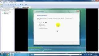 Hướng dẫn cài đặt Windows Vista để thực hành Module 1 IC3