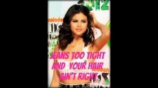 Selena Gomez and The Scene - Spotlight (Instrumental-Lyrics)