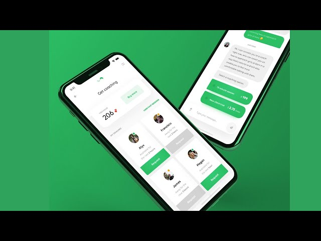Flutter UI - Talent Hire