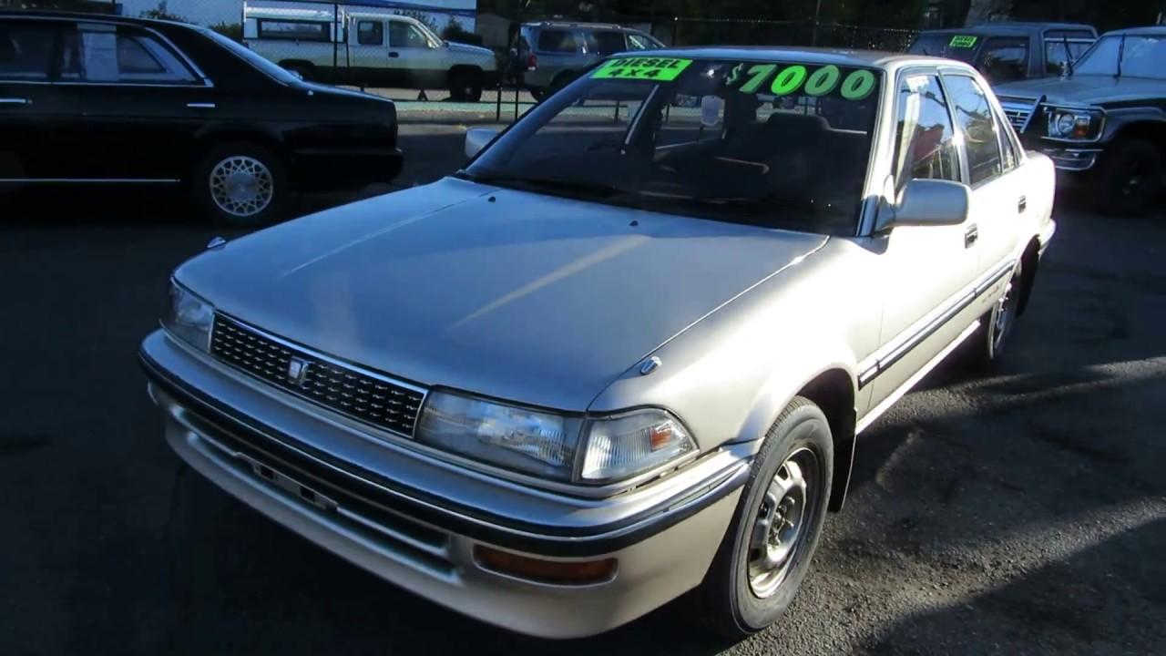 Toyota Corolla Sel Awd Manual 1990 86k Ml