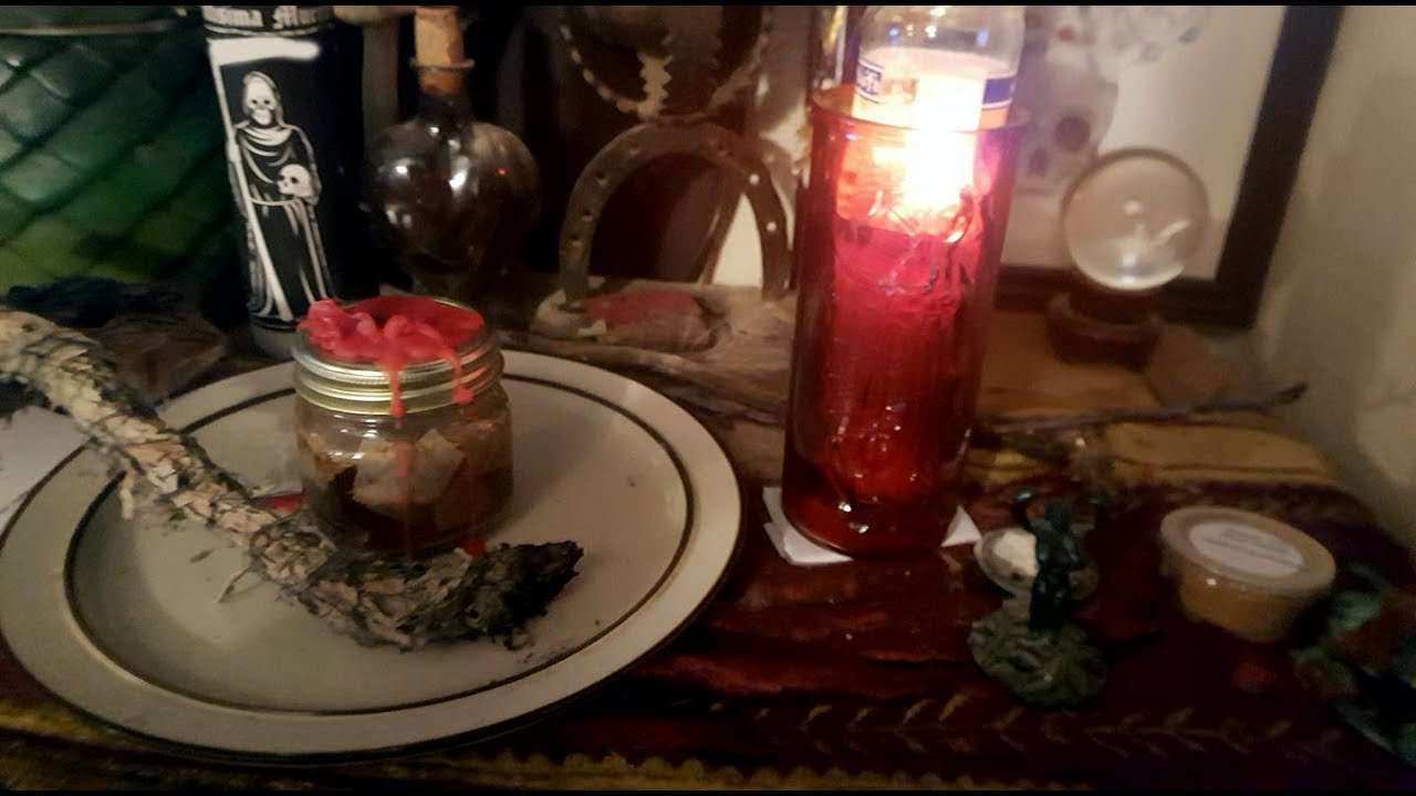 CONJURE CANDLES: DRESSING A FIXED CANDLE