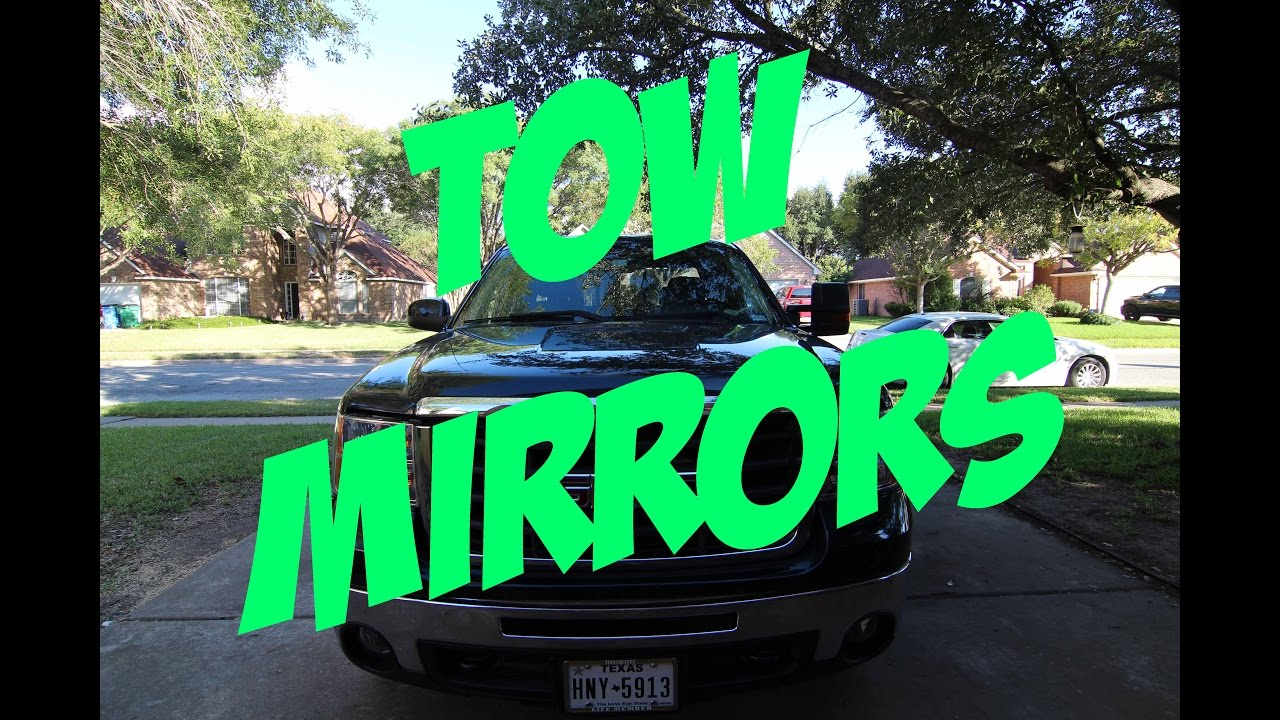 2009 Gmc 2500hd 2015 Style Tow Mirror Upgrade Youtube Chevy Power Wiring Diagram Premium