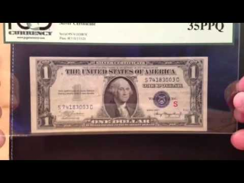 1935A Experimental Silver Certificate - Possible Bank Strap Find That Can Make You Money - BRSH