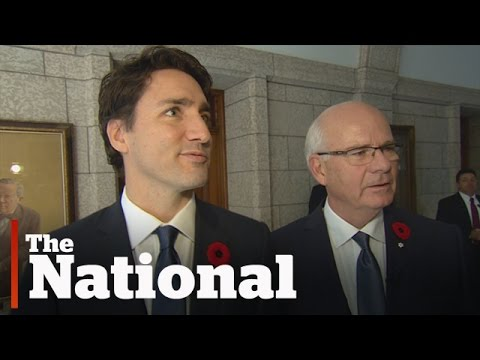 Behind-the-scenes of Justin Trudeau's first day as Prime Minister