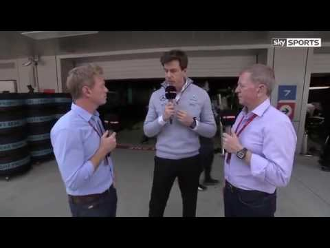 F1 Russian Grand Prix 2016 Race day Interview with Toto Wolff