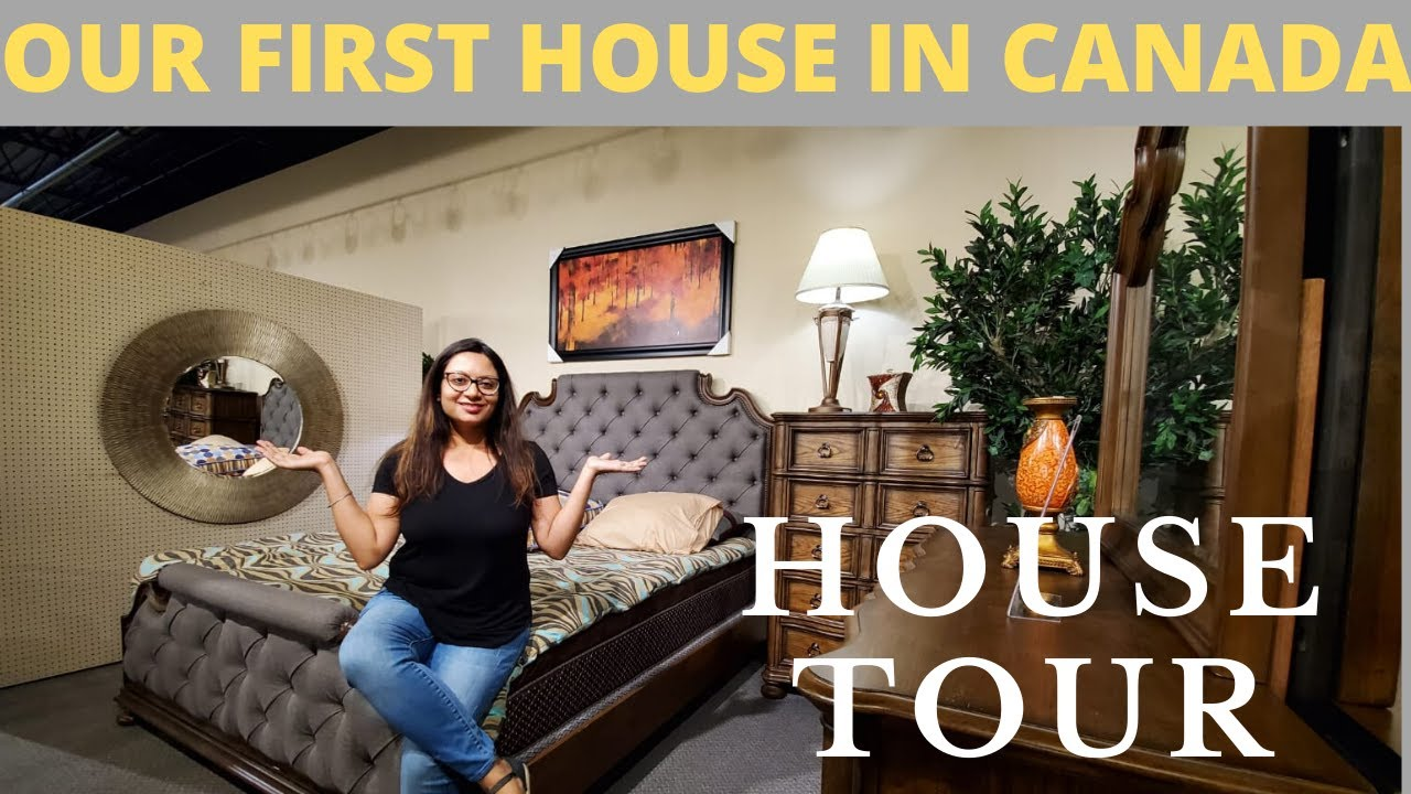 Our First House in Canada || House Tour Video