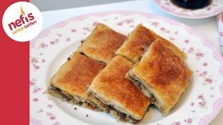 Kıymalı Börek Tarifi - El Açması Kolay Börek Tarifi