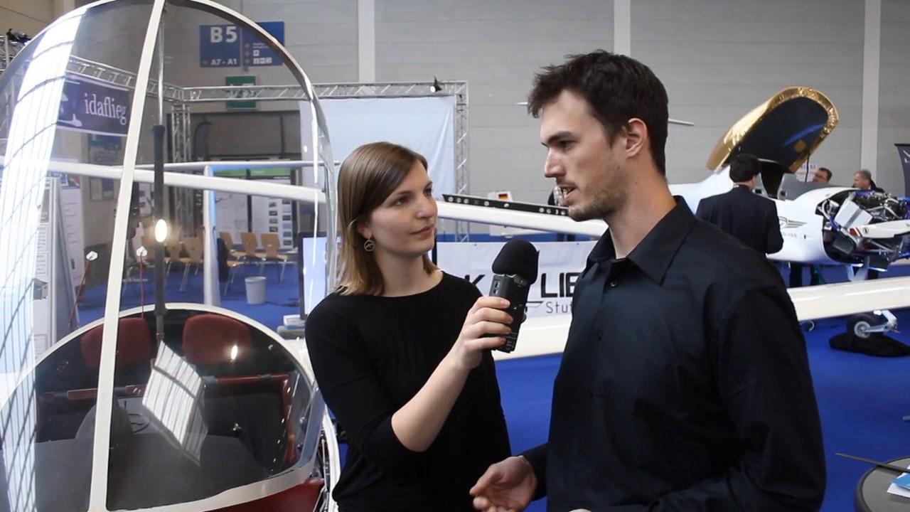 Akaflieg Berlin Mit Elektro Motorsegler Aero 2017 Youtube