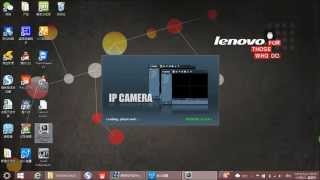 IP camera setting - Connecting camera directly to PC