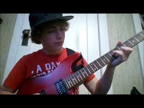 Pierce The Veil - Wonderless guitar lesson / tutorial by ivan