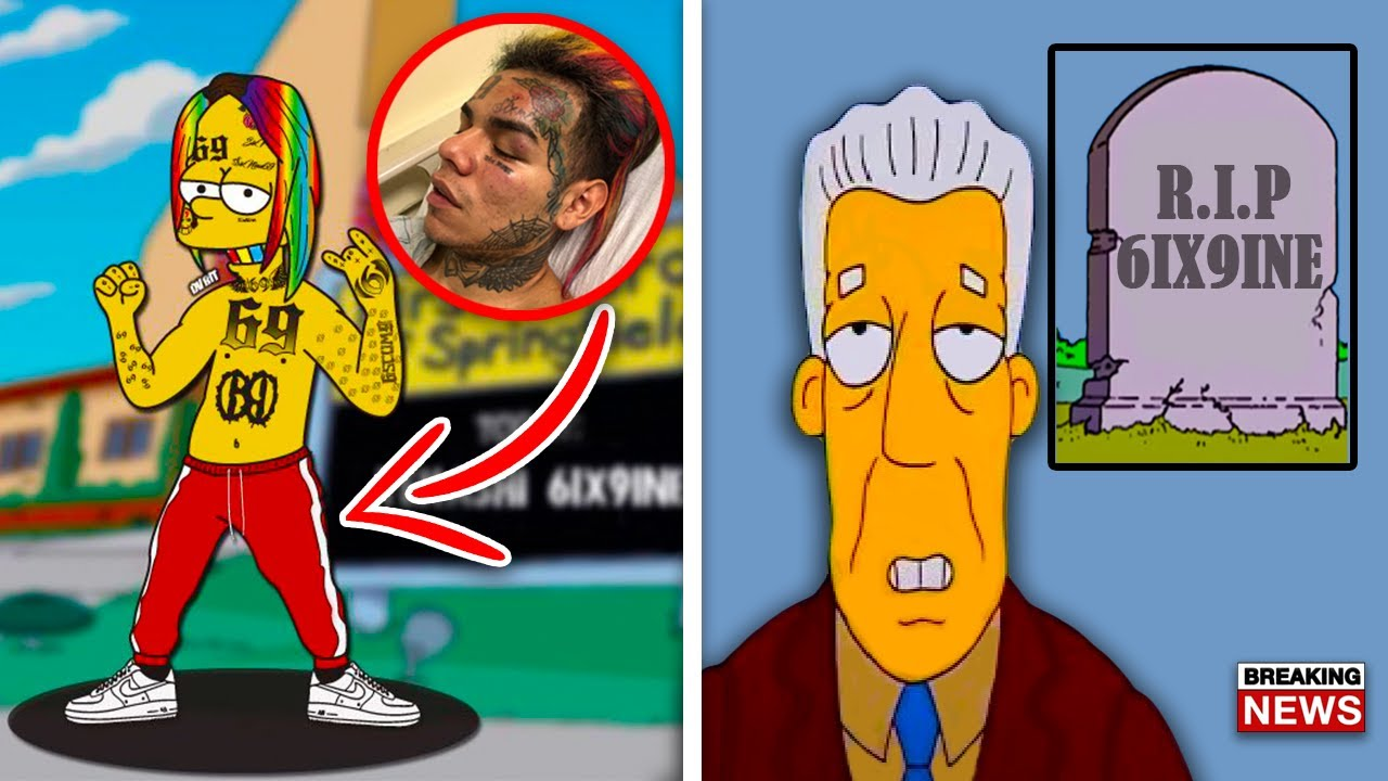 Download 10 Simpsons Predictions That MIGHT Come True in 2021