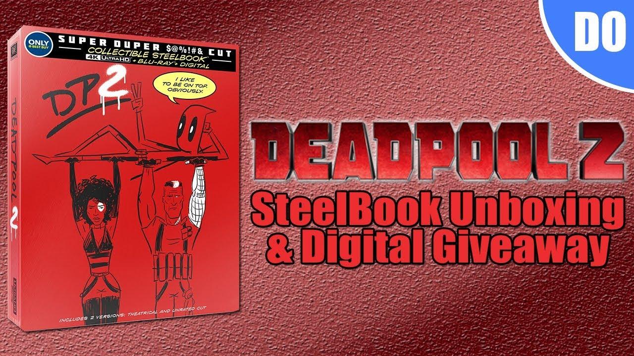 Deadpool 2 Steelbook