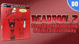 Deadpool 2 4K Ultra HD Blu-ray SteelBook Unboxing & Digital Giveaway | Best Buy Exclusive