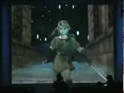 One Of The Best E3 Reactions - Zelda Twilight Princess Reveal 2004