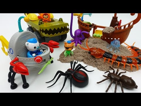 Thumbnail: Earthquake~!! Protect Scared Sea Creatures Go Octonauts GUP F