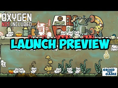 Oxygen Not Included - LAUNCH UPGRADE! (Preview) [4k] - Video