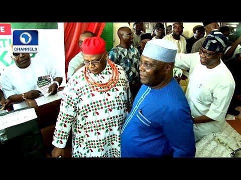 Atiku Takes Presidential Campaign To Edo