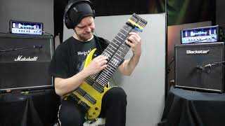 Close to you played on FMGuitars 16 string axe