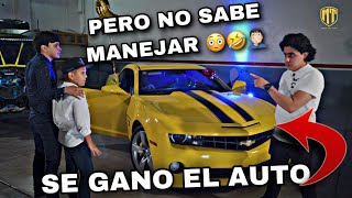 PARTE 2 | EL GANADOR DE MI AUTO | SE GANO EL CAMARO SS PERO NO SABE MANEJAR | MARKITOS TOYS