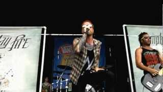 Memphis May Fire - The Sinner HD (Live at Warped Tour 2012 Toronto)