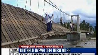 Gambar cover Demi sekolah, pelajar di Padang Lawas bertaruh nyawa - BIS 18/02