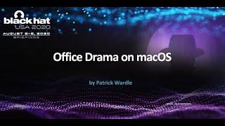 Office Drama on macOS
