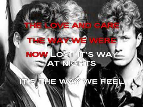 KARAOKE A-HA - THE BLOOD THAT MOVES THE BODY