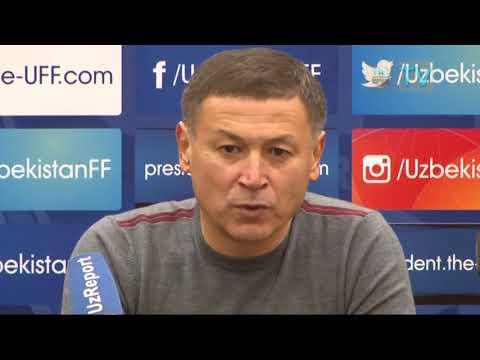 Post-match   press-conference   Mirjalol QOSIMOV