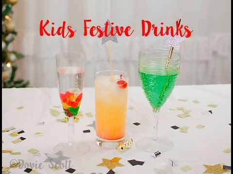 Kids Party Drinks - Non-Alcoholic Drinks For New Year's Eve